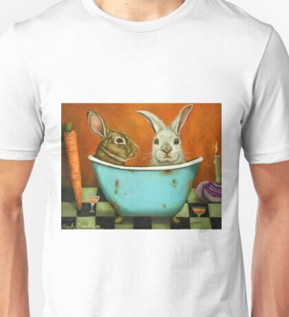 Tale Of Two Bunnies Unisex T-Shirt