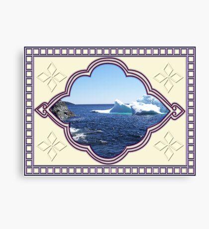 Iceberg-2...at the beach Canvas Print