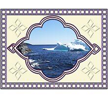 Iceberg-2...at the beach Photographic Print