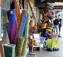 Main Street of Maleny, Qld, Australia by Sandra  Sengstock-Miller