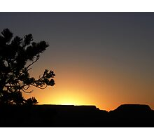 Sunrise in the Grand Canyon Photographic Print