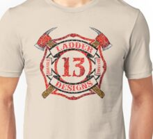 Ladder 13 - Distressed Cross Unisex T-Shirt