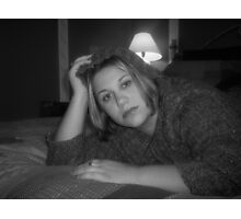 A Woman Alone Photographic Print