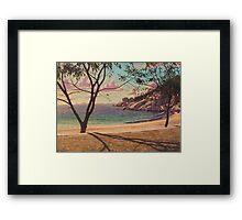 Alma Bay Morn' Framed Print
