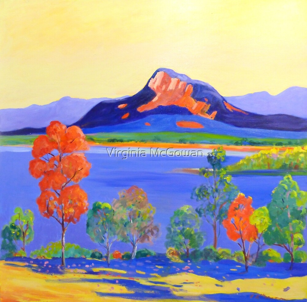 Moogerah Dam [Lake]  by Virginia McGowan