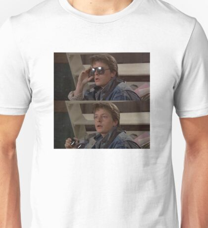Michael J Fox Marty McFly Back To The Future Rock N Roll Unisex T-Shirt