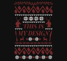 THIS IS MY DESIGN - Hannibal ugly christmas sweater  by FandomizedRose