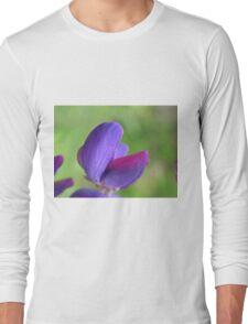 Purple Lupin Close Up Long Sleeve T-Shirt