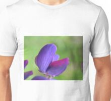 Purple Lupin Close Up Unisex T-Shirt
