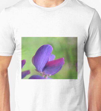 Purple Lupin Close Up Unisex T-Shirt