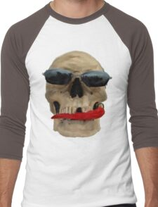 Henry loves chillies Men's Baseball ¾ T-Shirt