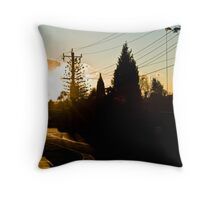 Doncaster Sunset Throw Pillow