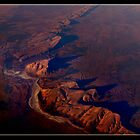 Central Australia at 38,000 ft. by Leone