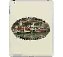 American Truckie - Ladder 13 iPad Case/Skin