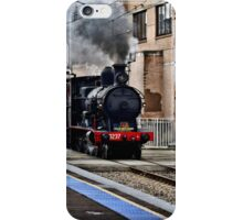Steam Engine 3237 - The Last Ride Out of Newcastle NSW iPhone Case/Skin