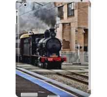 Steam Engine 3237 - The Last Ride Out of Newcastle NSW iPad Case/Skin