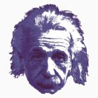Albert Einstein - Theoretical Physicist - Purple by graphix