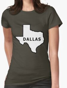 The Big D Womens Fitted T-Shirt