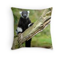 MONKEY WATCH Throw Pillow