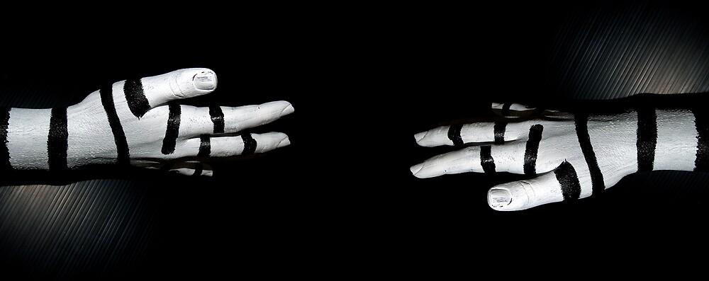 striped hands by lauren lederman