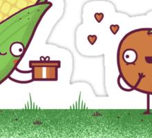 Sweet Corn Sticker
