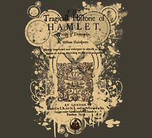 Shakespeare's Hamlet Front Piece Womens Fitted T-Shirt