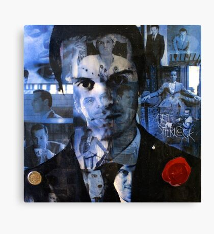 Moriarty Collage Canvas Print