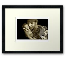 Mother & Child by Melinda Kerr and Rebecca Zachariah Framed Print