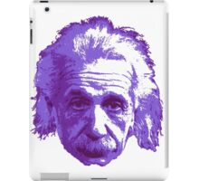 Albert Einstein - Theoretical Physicist - Purple iPad Case/Skin
