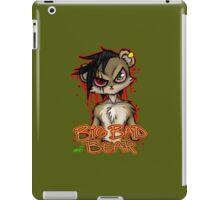 Big Bad Bear iPad Case/Skin