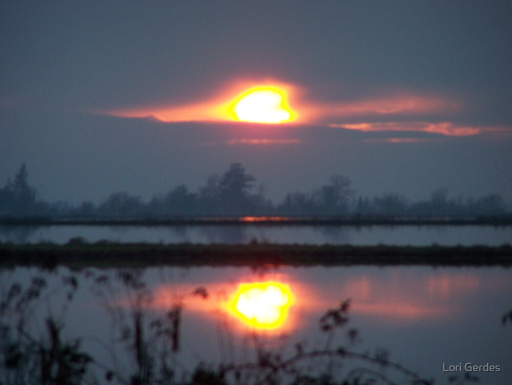 Sunset by Lori Gerdes