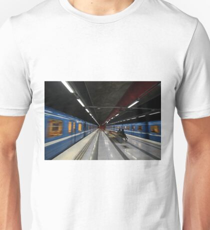 Stockholm Metro Duvbo Station Unisex T-Shirt