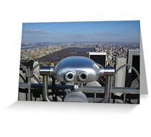 Highest Point In New York Greeting Card