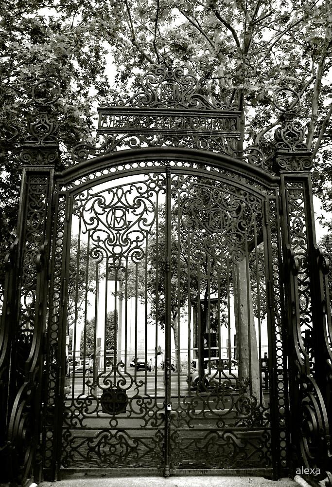 Paris Gates by alexa