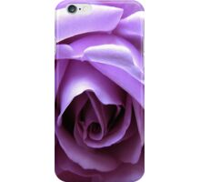 The Heart of a Blue Moon Rose  iPhone Case/Skin
