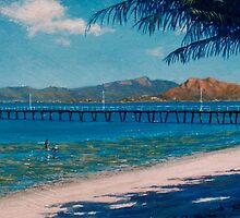 Low Tide at Picnic Bay - Magnetic Island by Cary McAulay