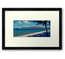 Low Tide at Picnic Bay - Magnetic Island Framed Print