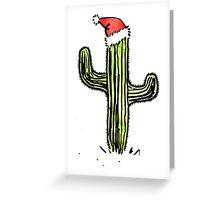 Festive Saguaro Greeting Card
