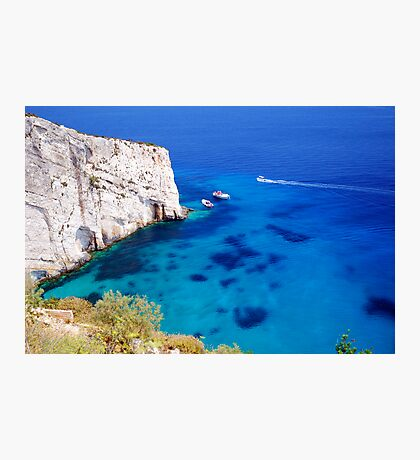 Greek Bay Photographic Print