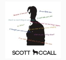 Scott Mccall Quotes by jordams124