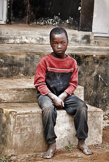 Ugandan Boy by Jane Smith