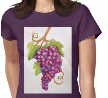 TUSCAN GRAPES Womens Fitted T-Shirt