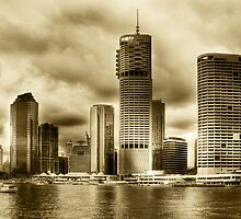 Brisbane Riverside... by Nicole Goggins