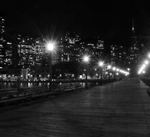An Evening Walk Down Pier 7 by Revive The Light Photography