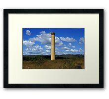Mt Mulligan Chimney Framed Print