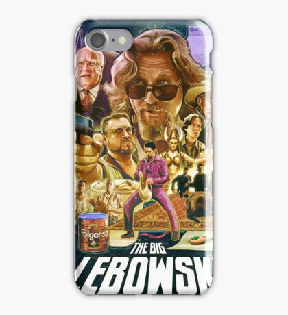 Lebowski Star Wars Poster iPhone Case/Skin