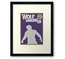 The Wolf Among Us Poster Framed Print