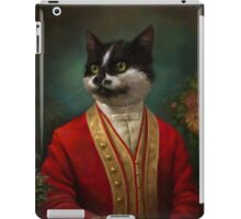 The Hermitage Court Waiter Cat iPad Case/Skin