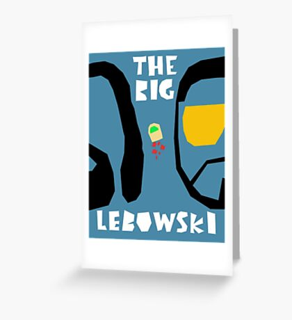 Big Leboswki Thumb  Greeting Card