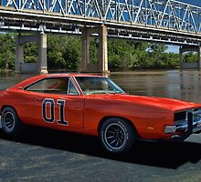 """1968 Dodge Charger RT """"General Lee"""" Replica by TeeMack"""